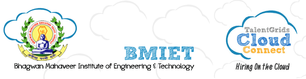 BMIET Talent Grids Cloud Connect Portal