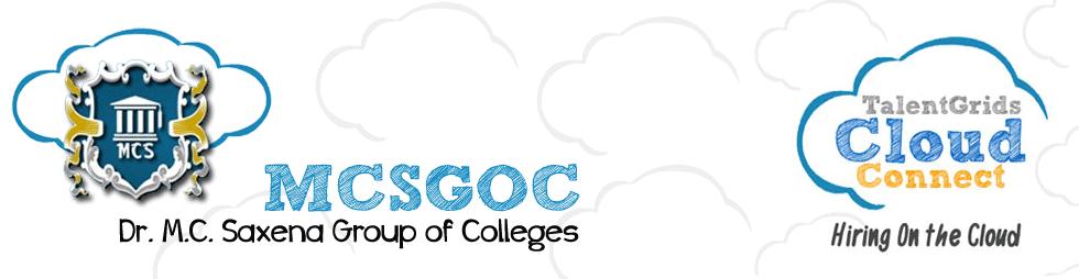 MCSGOC Talent Grids Cloud Connect Portal